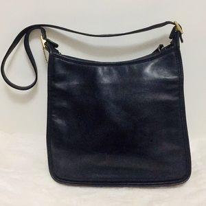 Coach #D1D-9073 Black Vintage Hobo Bag